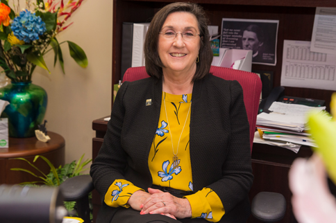 click to learn more about Provost Susan Ford's $25,000 gift to SIU